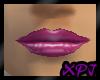 Jen Grape Gloss Lips