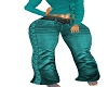 RLL TEAL JEANS