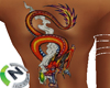 Female Dragon Tattoo