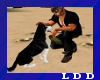 LDD-Animate Dog Frisbee