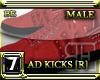 [BE] RED ADIDAS KICKS