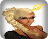 side ponytail- blonde