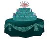 Happy Birthday Cake Teal