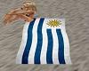 Beach Towel-Uruguay Flag