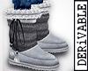 ! M' Req. Fur Boots