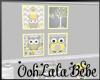 Baby Owl Frames v1