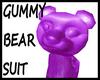 @ Gummy Bear Suit Purple