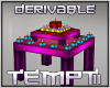 DERiVABLE Candle Table