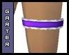 Purple Garter