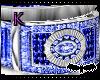 Blue&Silver Wedding Ring