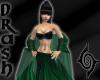 Mistress Shawl - Drk Grn