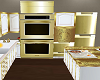 Gold Double Oven