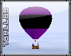 purple & black Balloon