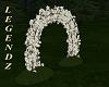 Wicker Flower Garden Arc