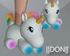 UNICORN !! fluffy shoes