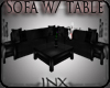 ~X~Sofa W/table 10poses