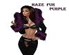 HAZE/FUR/PURPLE