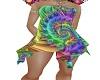 Hippie pastel dress