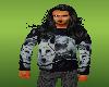 male wolf sweater