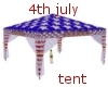 4th july tent