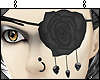 *XS* LG Rose Skull Patch