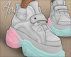 $ Ombre Sneakers