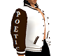 Poe's jacket b n w