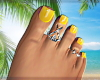 Summer Feet Y*Silver
