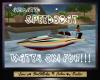 SC Anim Water Sking Boat