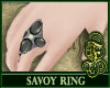 Savoy Ring Gray