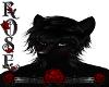 {Rose} Black wolf ears