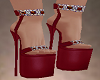 NK Sexy Red Heels