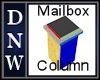 Mailbox Column