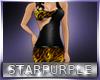 *Gold Leopard Dress
