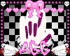 pink checkered claws