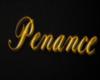Penance Sign (Gold)