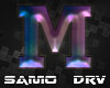 M Letter Colored Drv