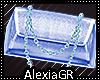 [A] Silk Light Blue Bag