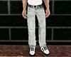 Levi's Jeans(Brown Belt)