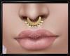 Gold Nose Piercing