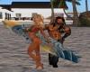 Beach couple 2