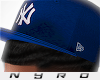 NY Fitted | Blue