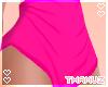 T | Pink Spandex Shorts