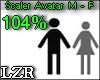 Scaler Avatar M - F 104%
