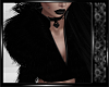 Dark Raven Fur JacketBlk
