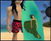 [66]Sea Queen Surf Board