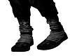 VK black cross sneakers