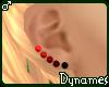 *Dy} Red Kandi Ears * M