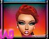 iAB| Red Sasha Hair