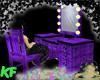 [KF] Makeup Table Purple